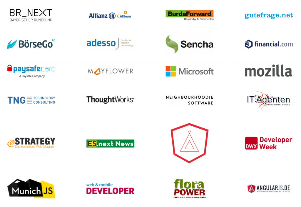 Sponsors and Supporters of JS Kongress 2016
